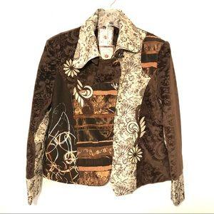 NWT Paparazzi Artsy Tapestry Embellished Jacket